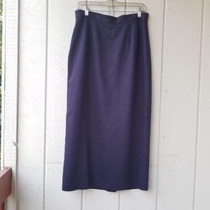 Dresses & Skirts - Navy blue Maxi skirt
